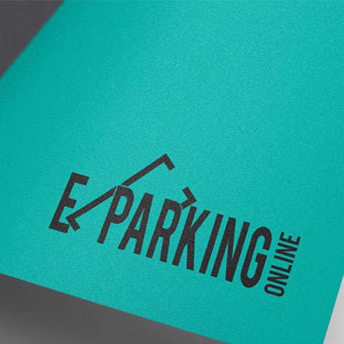 Diseño Logo Parking