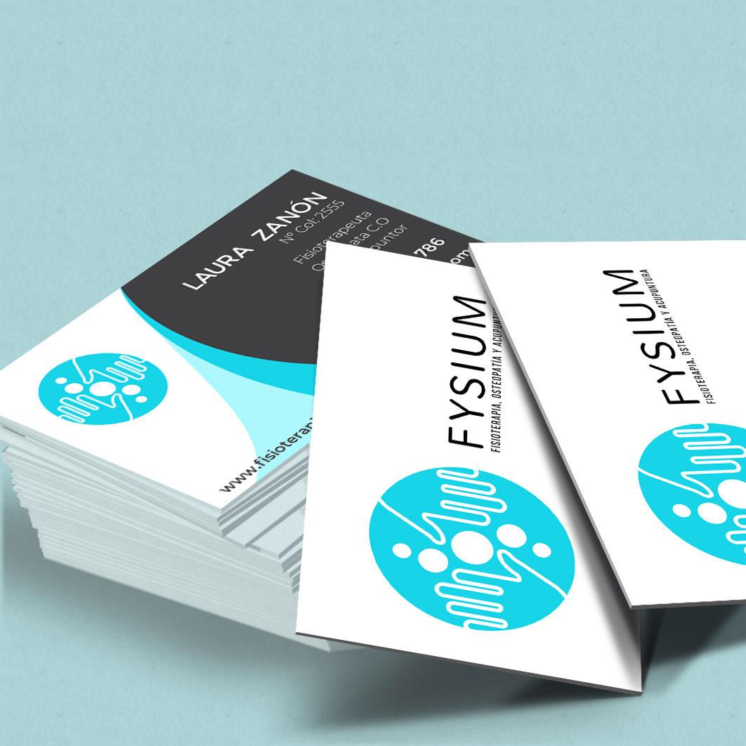 Diseño Identidad Corporativa FYSIUM
