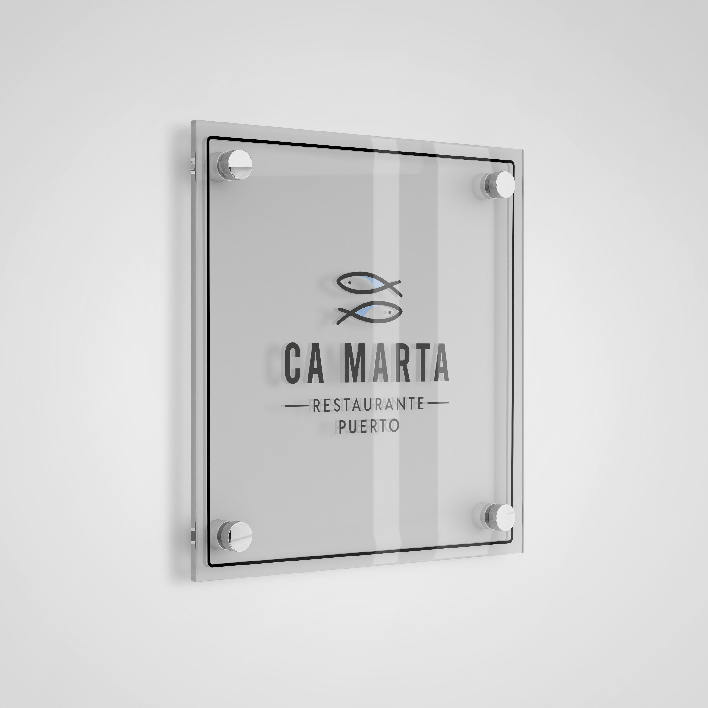 Diseño de identidad corporativa Ca Marta
