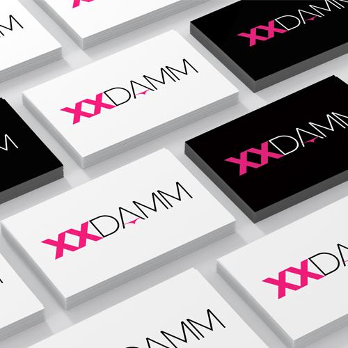 Diseño identidad corporativa XXDAMM
