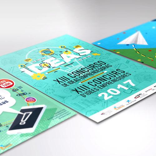 Diseño de cartelería publicitaria