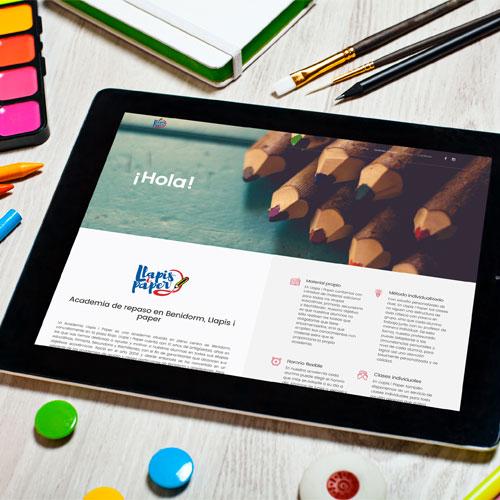 Maquetación y diseño web
